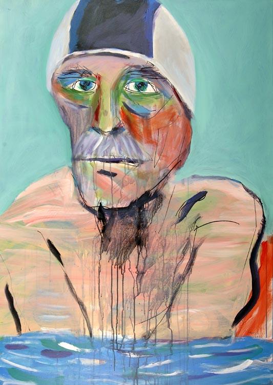 Malerei, 140x100cm, Acryl auf Leinwand